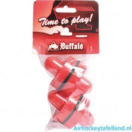 Airhockey pusher 4 stuks Buffalo 75 mm