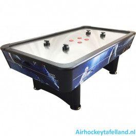 TopTable Airhockey Tafel Typhoon Pro Metal-line