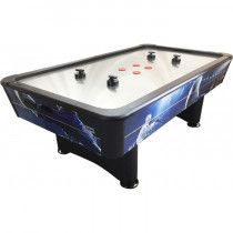 TopTable Airhockey Tafel Typhoon Pro Metal-line