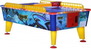 Buffalo Outdoor Airhockey Tafel Shark 6ft met Muntproever