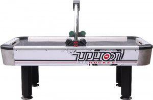 Buffalo Airhockey Tafel Typhoon Roestvrij Staal 7 ft